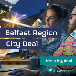 Poster for Belfast Region City Deal