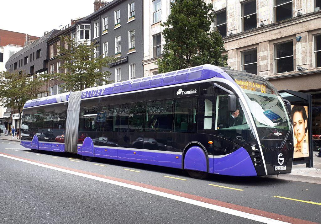 Translink Glider bus