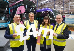Translink launches Northern Ireland's first hydrogen buses