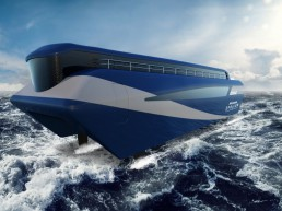 Artemis zero emissions ferry