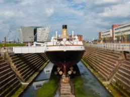 SS Nomadic and Titanic Belfast visitor attractions